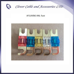 Wholesale Good Quality and Brand New Auto Car Ampifier MINI ANL Fuse AFS Fuse