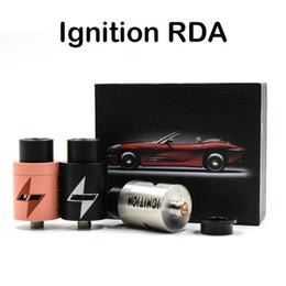 Cobre vaporizador mod en Línea-Ignición RDA Clon atomizadores cigarrillo electrónico vaporizador 22 mm Diámetro 2 postes de la terraza grande del aire Agujero Negro Plata Cobre RDA Fit Box 510 Mod