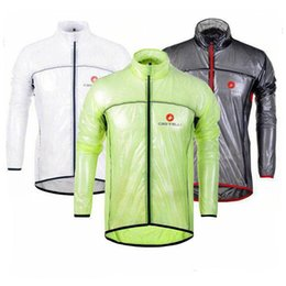 Wholesale 2016 Cool Cast Road MTB Bicycle Raincoat Lightweight Cycling Jacket Windproof Road Racing Bicycle Rain Coat Colors S XL For Choice