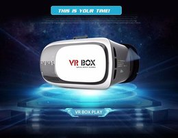 Wholesale VR Box Gamepad Virtual Reality D VR Glasses Helmet VR BOX Headset For Smartphone inch inch with Retail Package