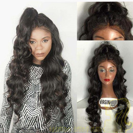 Brazilian human hair wig with full bangs for black women full lace wig with baby hair