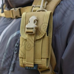 Wholesale 50PCS LJJM94 Mobile Phone Molle Tactical Military Pouch Belt Waist Bag Field Saddlebag Camouflage Outdoor Bag