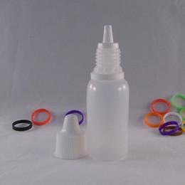 Wholesale 50ml Translucent Pen Shape Unicorn Bottle PE Bottles E liquid Plastic Dropper Bottles Empty E juice Needle bottle