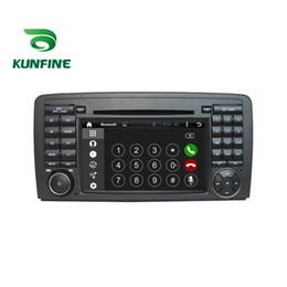 Descuento consola gris Estera del jugador de la navegación del GPS del coche 5.1.1 del cuadrángulo 1024 * 600 de la base 1024 * 600 estéreo para el Benz R W251 2006 adelante Radio Wifi Bluetooth KF-V2179Q