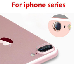 Wholesale Camera Lens Tempered Glass Film For iPhone S Plus Back Film Rear Protective Sticker Phone Cover