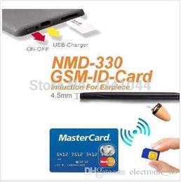 GSM ID Card GSM ID BOX 330L IMEI Unique 4.5 W Amplifier with Hidden In Ear Audio Receiver Wireless Earpiece