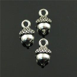Wholesale 100pcs mm diy colors antique gold antique silver antique bronze plated Nuts charms