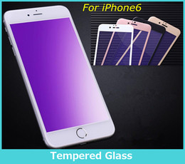 Wholesale Screen protector For iPhone s Plus Screen Protect Anti Blu Ray Tempered Glass Screen Protector Eyes Protection Film Anti scratch