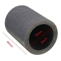 Wholesale 30 x mm for oz Pure Graphite Crucible Cup Propane Torch Melting Gold Silver Copper Anti oxidation Corrosion Resistance