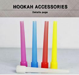 500pcs / lot livraison gratuite États-Unis Arabian SHISHA Hookah Mouth Tip Filtres Hookah Tuyau Hookah Tuyle Jetable Mouthpiece coloré prix bon marché à partir de shisha bouche fabricateur