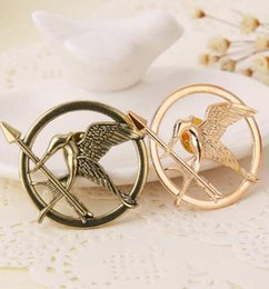 Wholesale The Hunger Games Mock Birds Brooches Laugh at Birds Brooches Gold Bronze Silver in stock