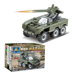 Free Shipping--Free Shipping---In 2016 year new product's Air defense hot educational building blocks assembled toy car