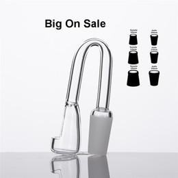 Wholesale Sale Lamp Quartz Banger Nail Domeless nails mm mm mm Male Female Club Quave Dab Rig Glass Bong Water Pipe