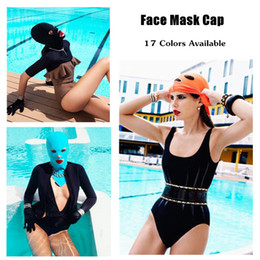 Wholesale 500pcs Face Mask Cap Guard Head Cap Sunblock Protect Uv Some Bug Biting Jellyfish for Head Protect Mask