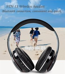 Wholesale Stereo Bluetooth Wireless Headphone Headsets Noise Cancelling Bluetooth DJ Headphones STN High Performance Over Headphones With FM TF MIC