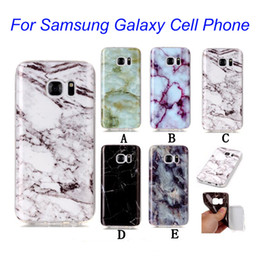 Luxury Ultra-thin Marble Design Case Skin Cover IMD Soft Full Protective Case Cover For Samsung Galaxy S7 S7Edge S6 S6Edge S5 S4 BE0433