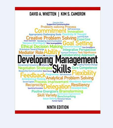 Wholesale 2016 hot sale Chirstmas gift New book Developing Management Skills th Edition th Edition
