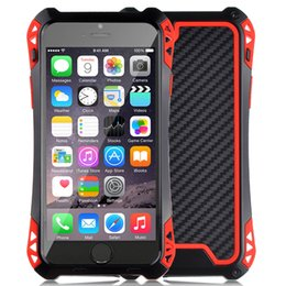 Waterproof Shockproof Aluminum Glass Metal Case Cover For Apple iPhone 5 5s 6 6s Plus 6+