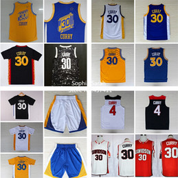 Wholesale Golden state Stephen Curry Jersey The City steph curry Yellow Blue Throwback Jersey White Blue Yellow Black Color