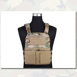 Wholesale CP Style Lightweight AVS Vest Hunting EMERSON Genuine Multicam Fabric Adaptive Vest Airsoft Outdoor Equipment MC