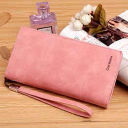 New card Holder Wallet multifunctional PU leather wamen purse candy travel wallet portable purse business 7colors free shipping