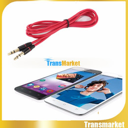 AUX Auxiliary Cord 3.5mm Mini Round type Car type Audio Cable for iPhone 5S 4S 6 iPod Mobile Phone MP3 Player