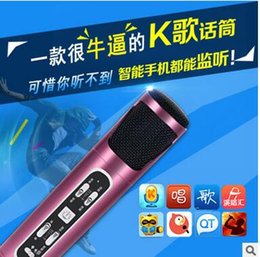 Wholesale Manufacturers selling live YY sing karaoke microphone anchor for computer and mobile phone condenser micphone anytime anywhere for fun