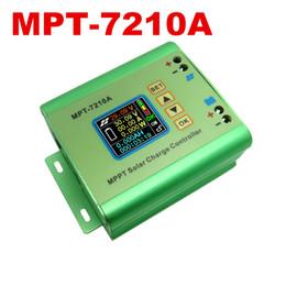 Новое прибытие MPT-7210A солнечный регулятор регулятор обязанности вольтметр 24V 36V 48V 60V 72V 10A Аккумулятор DC12-60V 600W панель солнечных батарей от Производители панели солнечных батарей регулятора контроллер заряда