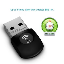 Wholesale dodocool AC600 Dual Band Wireless USB Adapter Wi Fi Dongle GHz Mbps or Ghz Mbps Support Windows Linux Max OS DC23