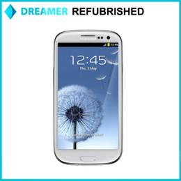 Wholesale 4 inch Original Refurbished Galaxy Samsung S3 I9305 i9300 Quad Core GB RAM GB ROM MP MP Camera LTE HSDPA GSM Smartphones