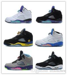 Wholesale Retro Laney Shanghai Shen S Grape Basketball Shoes Retro s Sports Sneakers Trainers