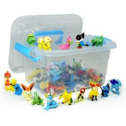 Wholesale Monster Action Figures Multicolor CM with Plastic Storage
