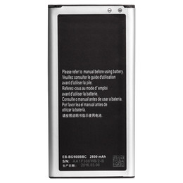 Wholesale s5 Battery i9600 AAA High Capacity EB BG900BBC Batteries For Samsung Galaxy s5 i9600 Battery Standard Li ion Replacement Battery