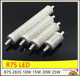 10PCS LED R7S Lamp 78mm 118mm 135mm 189mm R7S LED Bulb 5W 10W 12W 15W J78 J118 J135 J189 LED R7S Light SMD2835 110V 220V
