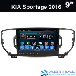 9Inch 4GB 1RAM Andriod 6.0 Car DVD player for Kia Sportage 2016 with GPS,Steering Wheel Control,Bluetooth, Radio