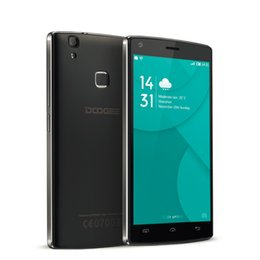 Wholesale Nuovo Doogee X5 MAX HD IPS Cellulare Android MTK6580 Quad Core GB GB MP Ha Sbloccato GSM WCDMA mAh di Impronte Digit