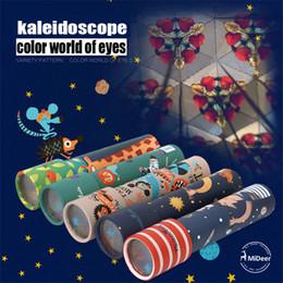 Tv prisma en Línea-Nueva 7 estilos Mideer Científico caleidoscopio experimentos juguete cambió el mundo del color prisma de ojos padres e hijos juguetes educativos interactivos