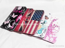 Wholesale Wallet Flowers And Plants Pattern Leather Case Cover Pouch with Card Slot Photo Frame for iPhone Plus Inch