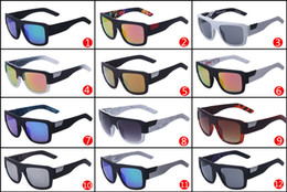 12 Colors High Quality Sunglasses FOX - THE Decorum Fashion Dazzle Color Sunglasses Big Frame Sun Glasses FOX03