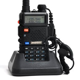 Wholesale Lowest Price Walkie Talkie BAOFENG BF UV5R W CH UHF VHF MHz MHz DTMF Two Way Radio Portable Radio A0850A