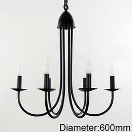 For foyer dinning room living room 6 arms candle pendant light lamp LED Vintage chandelier pendant lamp