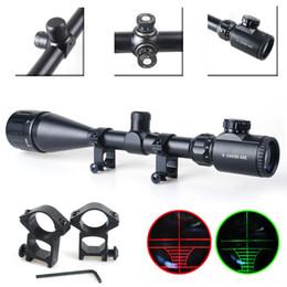 Rifle Scope Red & Green Mil-dot Illuminated Optics Hunting