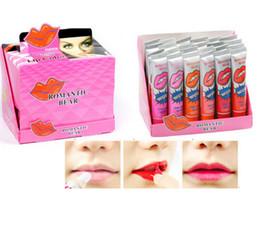 Wholesale Pure Natural Romantic Bear Liquid Lipstick Matte Baby Lips Pintalabios Long Lasting Waterprof My Lip Tint Pack Peel off Lipstick