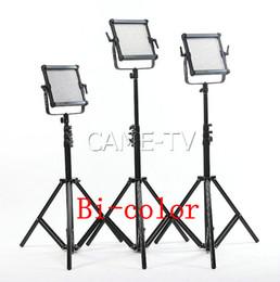 CAME-TV 576B Bi-Color LED Panels video Light (3 Piece Set) Film Studio lighting