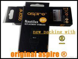 Wholesale new packing Authentic aspire bvc coil coils original aspire nautilus mini coils head ET s ce5 s K1 bvc coils cheapest