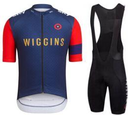 Wholesale New rapha wiggins Cycling Jerseys Sets Summer Cycling Shirts Cycling Clothes Bike Wear british UK Quick Dry assos ss Bicycle Bib Shorts