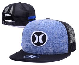 Wholesale 5 colors New Hurley Snapbacks all teams beanies adjustable hats basball fitted caps football mix order