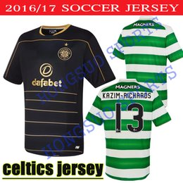 Wholesale BEST QUALITY Glasgow Celtic jerseys HOME AWAY Black MULGREW LUSTIG UIRGIL BITTON BROWN FORREST STOKES COMMONS ARMSTRONG SHITR