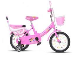 Wholesale 14 inch Children bicycle Humanized design Non slip handlebar pedal Training wheels Knitting basket bike tb60813