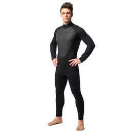3 mm neoprene wetsuit scuba dive for underwater hunting men wetsuit for surfing Diving suits split spear fishing S-XXL  Simple style